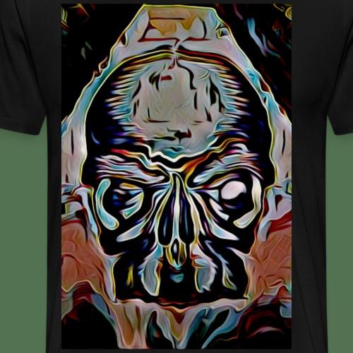 Psycho skull - Men's Premium T-Shirt