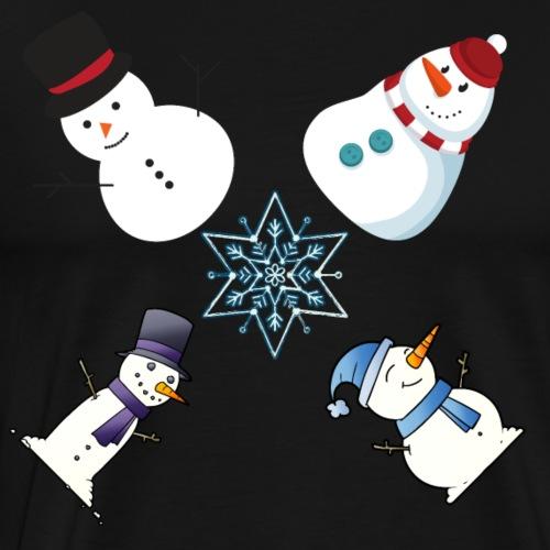 Snowman X - Men's Premium T-Shirt