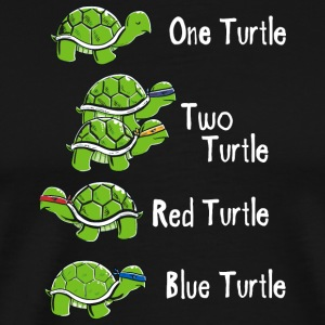 One Turtle Two Turtle - Men's Premium T-Shirt
