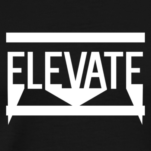 MOYER. - ELEVATE LOGO. - Men's Premium T-Shirt