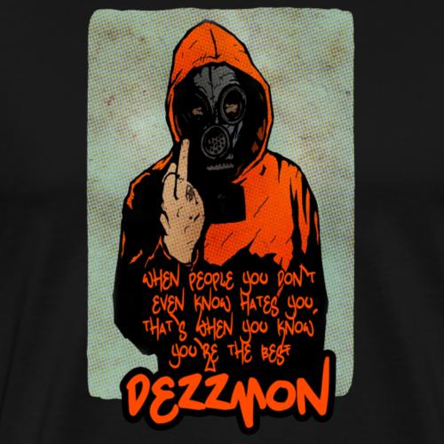 attitude quote t shirt - Men's Premium T-Shirt