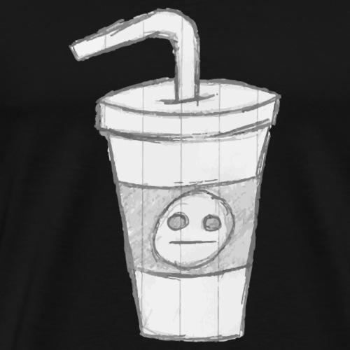 Sketchy Cup - Men's Premium T-Shirt
