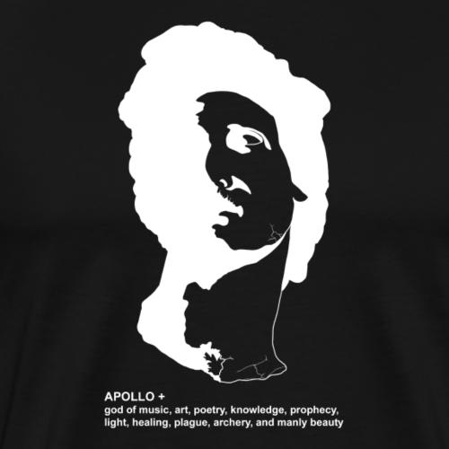 APOLLO + V2 Inverted - Men's Premium T-Shirt