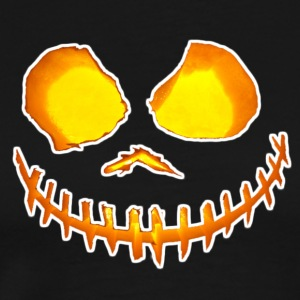Scary Halloween Face - Men's Premium T-Shirt