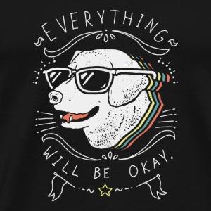 everything will be okay - Men's Premium T-Shirt