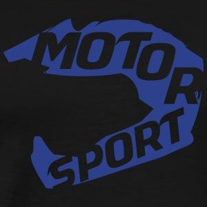 Rev Em Up Motorsport 4's Helmet - Men's Premium T-Shirt