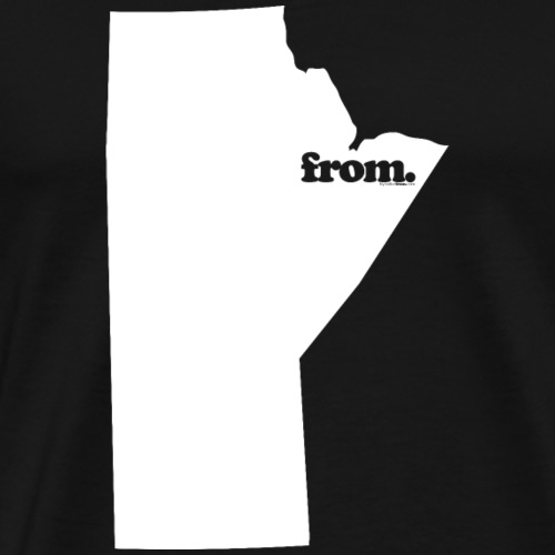 from manitoba - Men's Premium T-Shirt