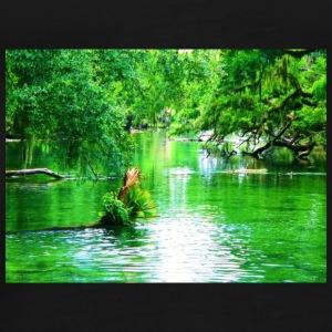GREEN WATER - Men's Premium T-Shirt