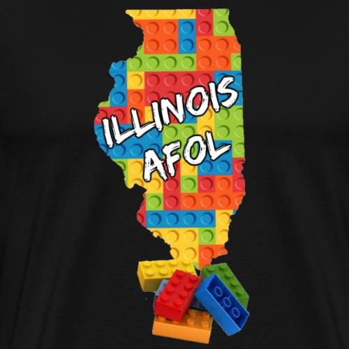 Illinois AFOL - Men's Premium T-Shirt