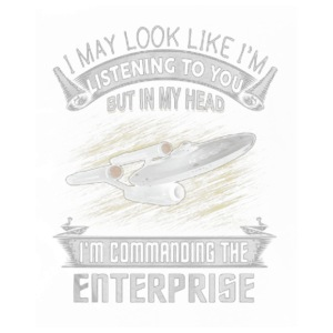 Commanding the Enterprise - Men's Premium T-Shirt