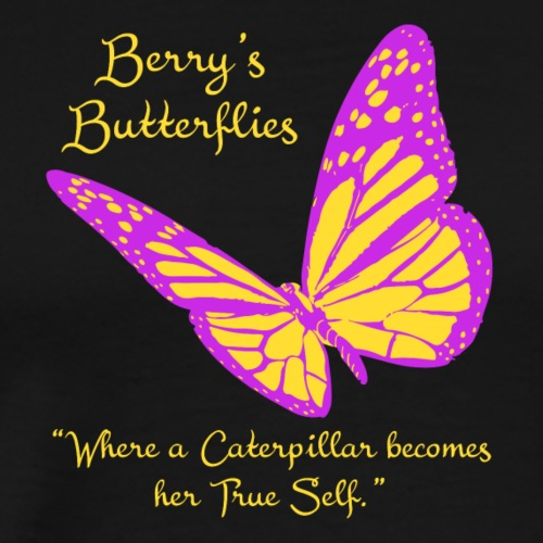 butterfly logo 2 - Men's Premium T-Shirt
