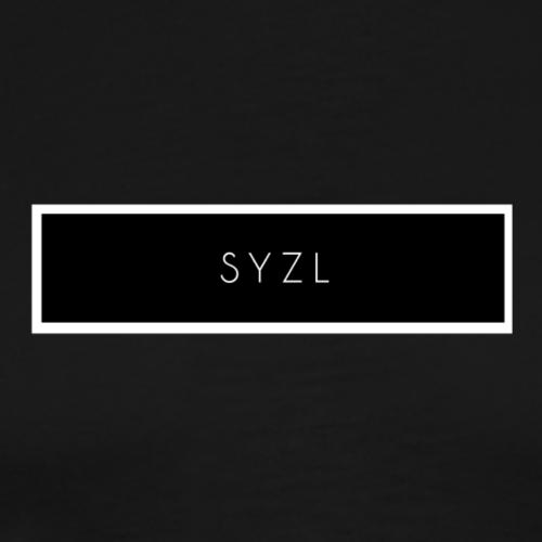 SYZL Black Logo - Men's Premium T-Shirt