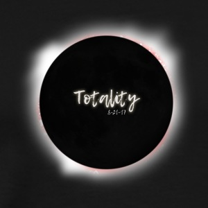 Solar Eclipse 2017. I Saw Totality Graphic. - Men's Premium T-Shirt