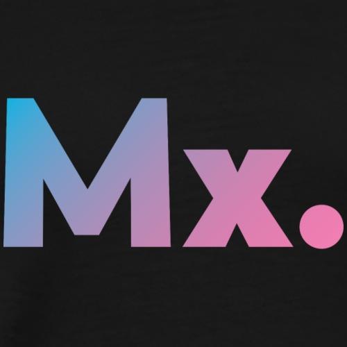 Mx. (gender-neutral) Honorific/Title design - Men's Premium T-Shirt