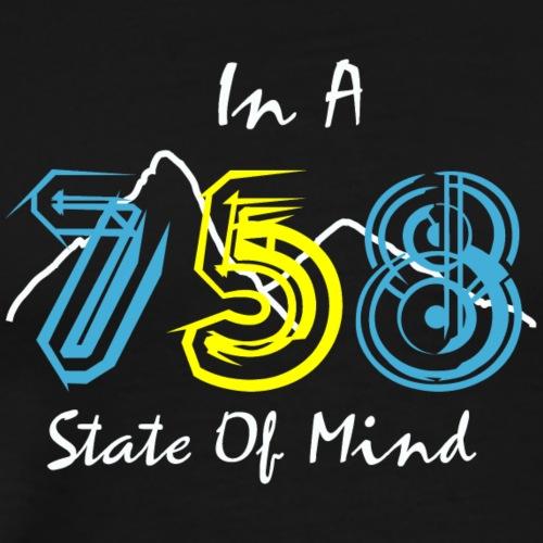 758 State Of Mind - Men's Premium T-Shirt