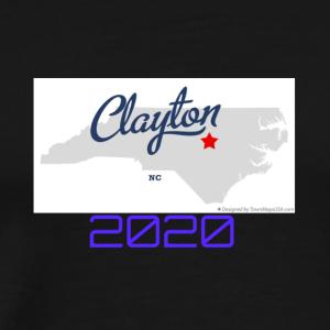 CLAYTON 2020 VERSION TWO - Men's Premium T-Shirt