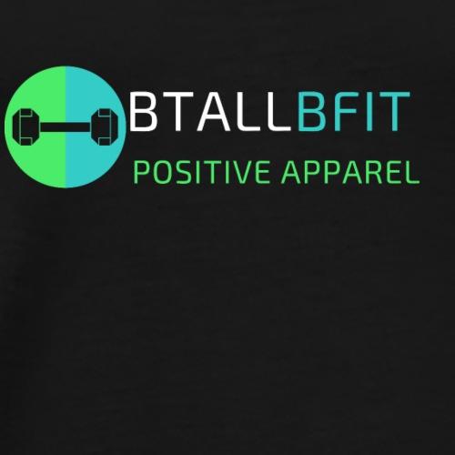 BtallBfit Logo White - Men's Premium T-Shirt