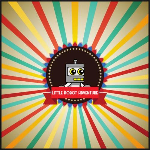 Little Robot Adventure retro logo - Men's Premium T-Shirt
