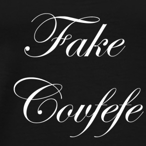 fake covfefe - Men's Premium T-Shirt