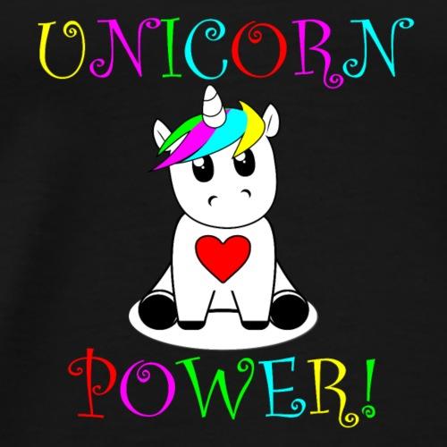 Unicorn Power! Version 2 - Men's Premium T-Shirt