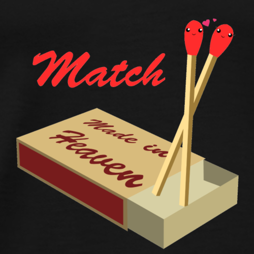 A Match Made In Heaven! - Men's Premium T-Shirt