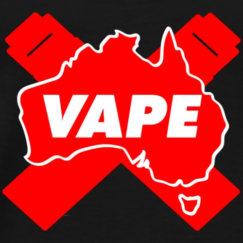VAPE Red AU - Men's Premium T-Shirt