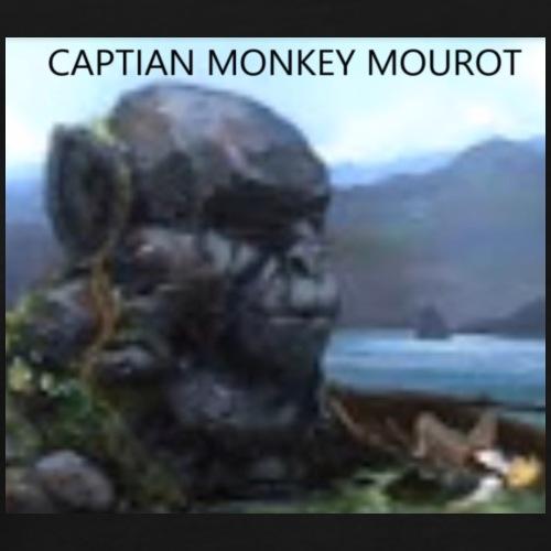 CAPTIAN MONKEY MOUROT - Men's Premium T-Shirt