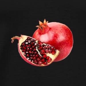Pomegranate filled gear. - Men's Premium T-Shirt