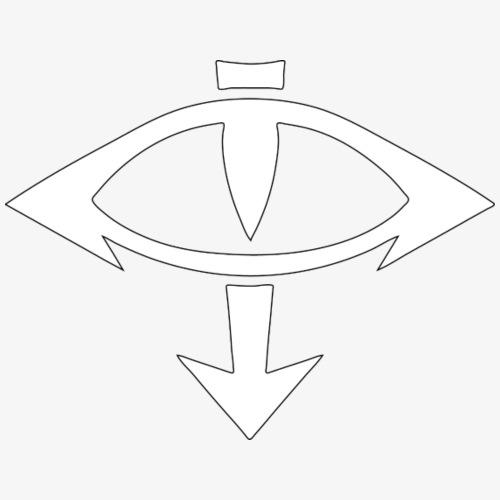 Eye of Horus - White - Men's Premium T-Shirt