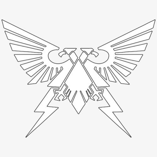 Emperor's Symbol of Unity - White - Men's Premium T-Shirt