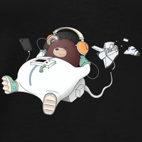 Chillout Bear Music - Men's Premium T-Shirt