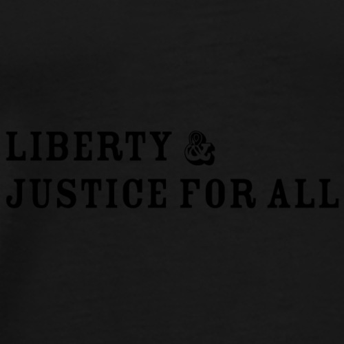 Liberty and Justice - Men's Premium T-Shirt