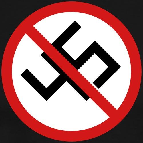 Anti-45 Against White Supremacy and the Alt Right - Men's Premium T-Shirt