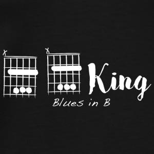 B B King, blues in B - Men's Premium T-Shirt