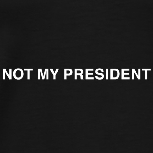 Name Tag White - Men's Premium T-Shirt