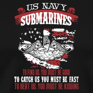 US Navy Submarine Shirt - Men's Premium T-Shirt