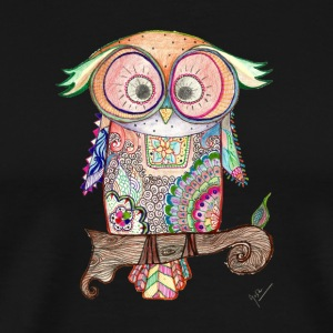 owl - Men's Premium T-Shirt