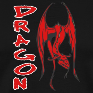 flyying_dragon_red - Men's Premium T-Shirt