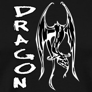flyying_dragon_black - Men's Premium T-Shirt