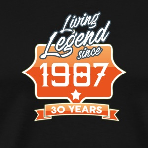 LEGEND BIRTHDAY 1987 - Men's Premium T-Shirt