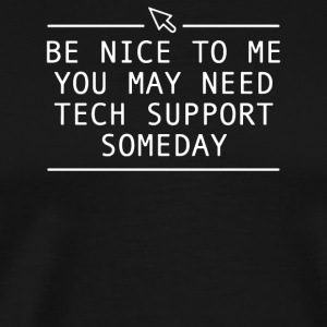FUNNY TECH SUPPORT PRINTED - Men's Premium T-Shirt