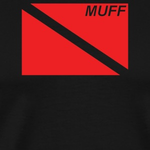 Muff Dive Flag - Men's Premium T-Shirt