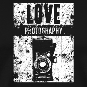 LOVE PHOTOGRAPHY - Men's Premium T-Shirt