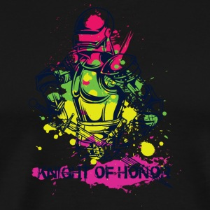KNIGHT OF HONOR COLORFUL - Men's Premium T-Shirt