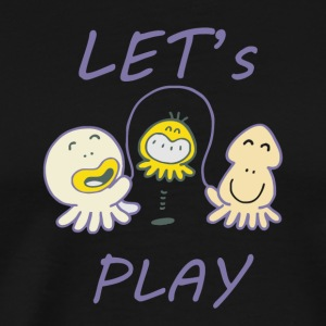 Let's play - Men's Premium T-Shirt