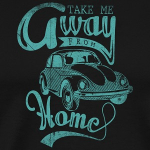 take_me_away_blue - Men's Premium T-Shirt
