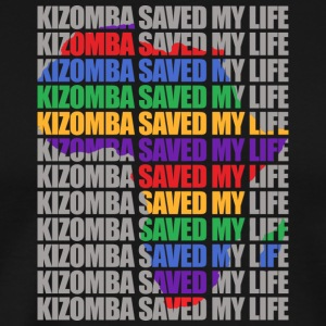 Kizomba saved my life - Men's Premium T-Shirt
