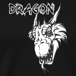 dragon_with_tongue - Men's Premium T-Shirt