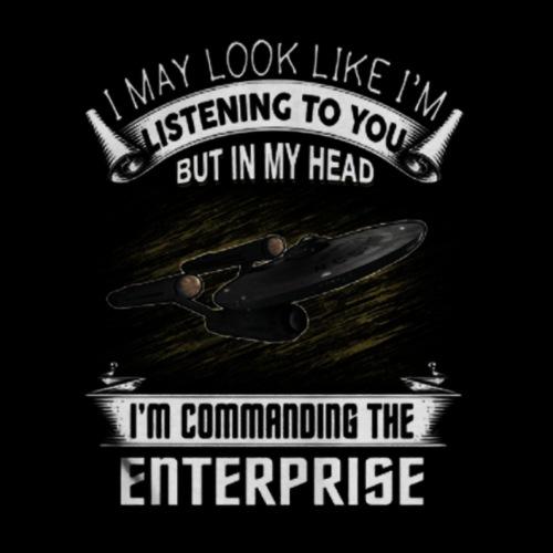 Commanding the Enterprise - Men's Premium T-Shirt