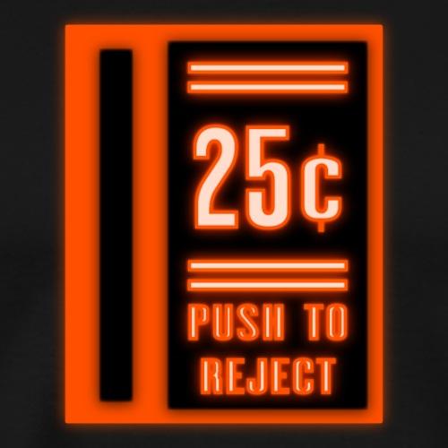 Neon Coin Slot - Men's Premium T-Shirt